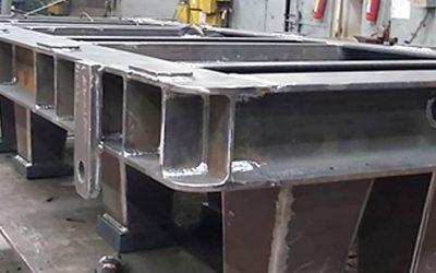 Marine Engine Foundations Fabrication